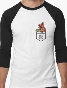 Hard to Destroy Reptile Men's Baseball ¾ T-Shirt