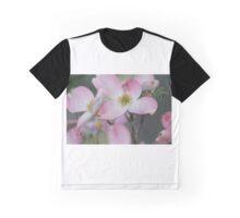 A soft pink Dogwood flower Graphic T-Shirt