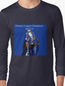 Leicester City Premier League Champions Long Sleeve T-Shirt