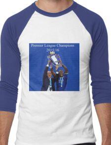 Leicester City Premier League Champions Men's Baseball ¾ T-Shirt