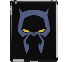 Animated Cat-lover Superhero (Negative) iPad Case/Skin