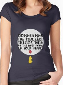 Smallest Things Women's Fitted Scoop T-Shirt