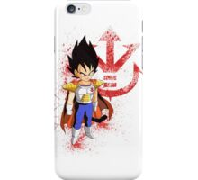 Little Prince Vegeta - Dragon Ball iPhone Case/Skin