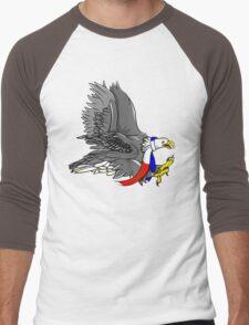 Bald Eagle USA Men's Baseball ¾ T-Shirt