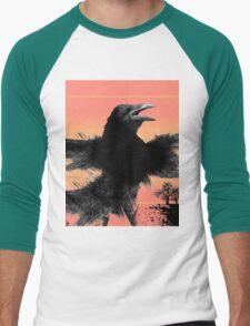 raven blazen Men's Baseball ¾ T-Shirt