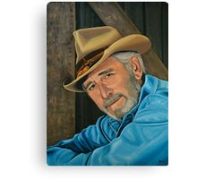 Don Williams Painting Canvas Print