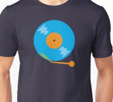 Blue vinyl record Unisex T-Shirt