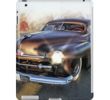 Cool Old Street Rod Photo Abstract iPad Case/Skin