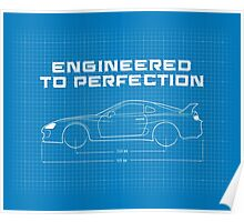 Enginered to Perfection Poster