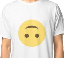 Smile emoji - upside down Classic T-Shirt