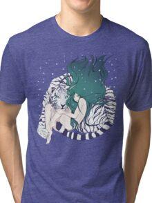Frosty Goddess  Tri-blend T-Shirt