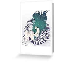 Frosty Goddess  Greeting Card
