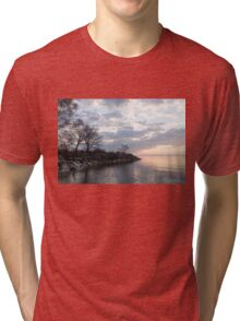 Lakeside Peace And Tranquility Tri-blend T-Shirt