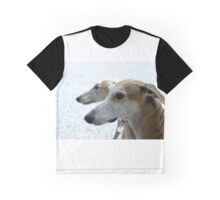 Profiles of the Spanish greyhounds Graphic T-Shirt