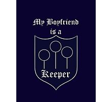 My Boyfriend is a Keeper - Ravenclaw Photographic Print