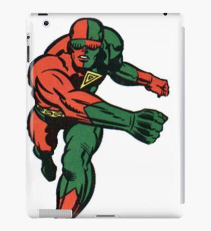 3-D Man iPad Case/Skin