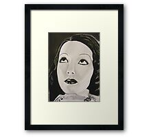 The Girl from Mexico Framed Print