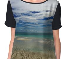 Caribbean Sea Chiffon Top
