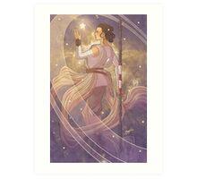 Lady of Light III Art Print
