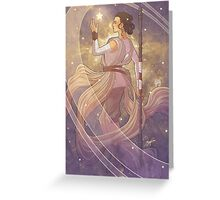 Lady of Light III Greeting Card