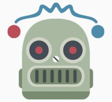 Robot emoji One Piece - Short Sleeve