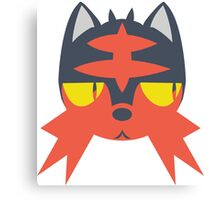 Pokemon - LITTEN Canvas Print
