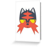 Pokemon - LITTEN Greeting Card