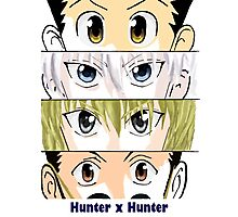 Hunter x Hunter Squad Photographic Print