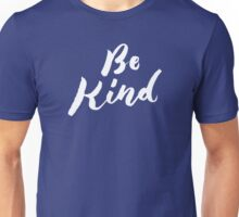 Be Kind - Hand Lettering Design Unisex T-Shirt