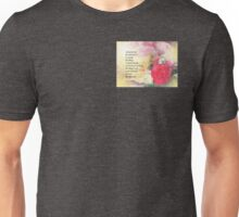 Serenity Prayer Peonies and Roses Unisex T-Shirt