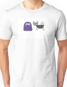 The Owl and the Pussycat Unisex T-Shirt
