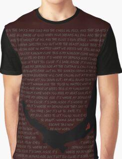 Mark of Cain (Demon - Imagine Dragons Lyrics) Graphic T-Shirt