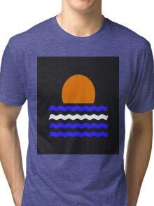 Simple Sunset Tri-blend T-Shirt