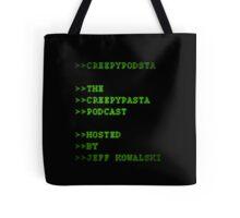 CreepyPodsta Podcast Logo Tote Bag
