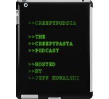 CreepyPodsta Podcast Logo iPad Case/Skin