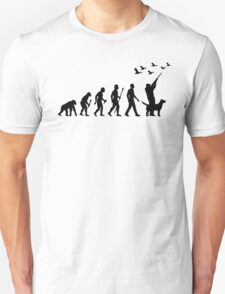 Duck Hunting Evolution Of Man Unisex T-Shirt