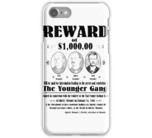 Younger Gang Wanted iPhone Case/Skin