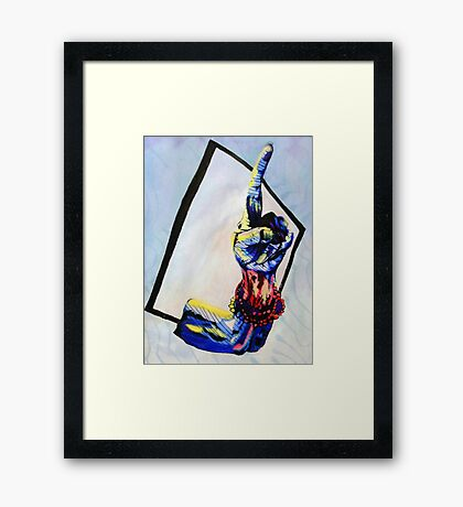 Cuban Opinion  Framed Print