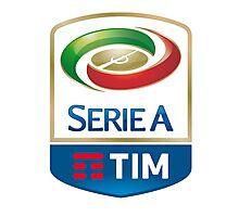 Serie A TIM Logo Photographic Print