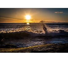 Spring Sunset at Windansea Beach Photographic Print