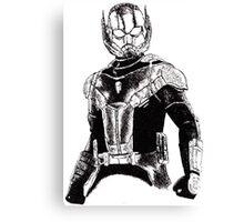 Ant-Man Civil War art Canvas Print