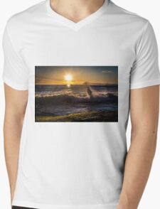 Spring Sunset at Windansea Beach Mens V-Neck T-Shirt