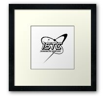 ISTC - Mission: SPACE Framed Print