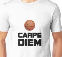 Carpe Diem Basketball Unisex T-Shirt
