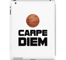 Carpe Diem Basketball iPad Case/Skin