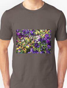 Cheerful Pansies T-Shirt