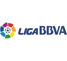 Liga BBVA Logo Photographic Print
