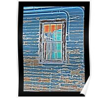 WWII Window Panes Poster