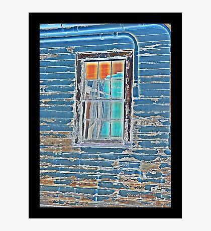 WWII Window Panes Photographic Print