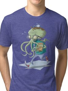 Schoolthulhu Tri-blend T-Shirt
